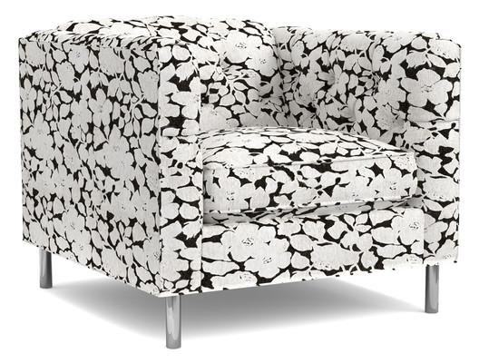1120CR Kit Club Chair by Cynthia Rowley