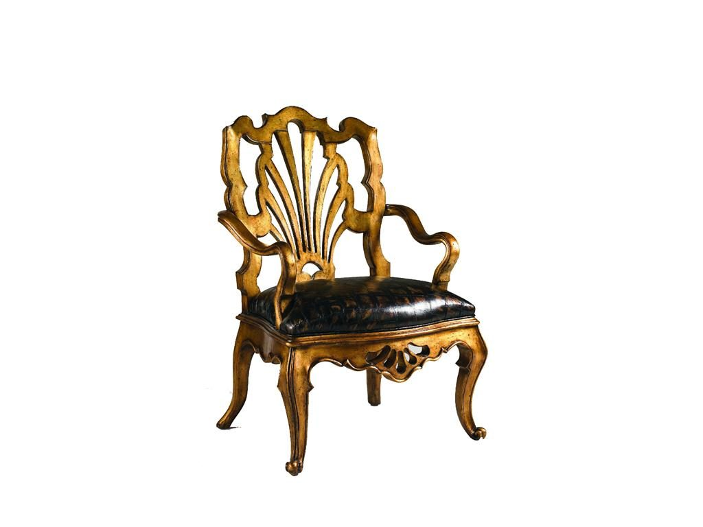 Furniture Antiques French Armchair Baroque Chair Livingroom Furniture Fine Workmanship